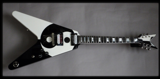 2012 Michael Schenker Yin Yang Electric Guitar