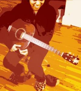 Kristen L. Acoustic Guitar